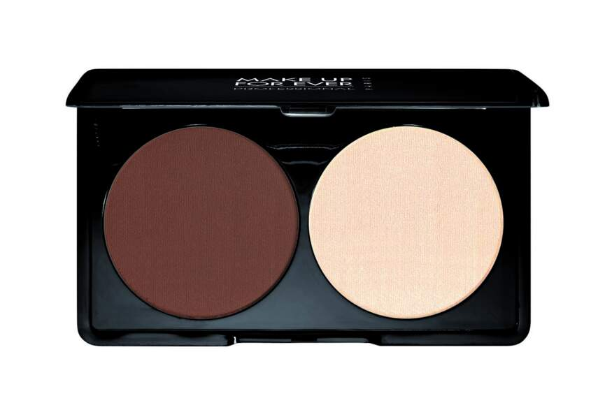 La palette contouring Make Up For Ever
