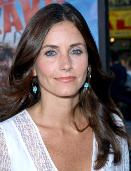 Courteney Cox avant