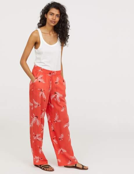 Pantalon : flare