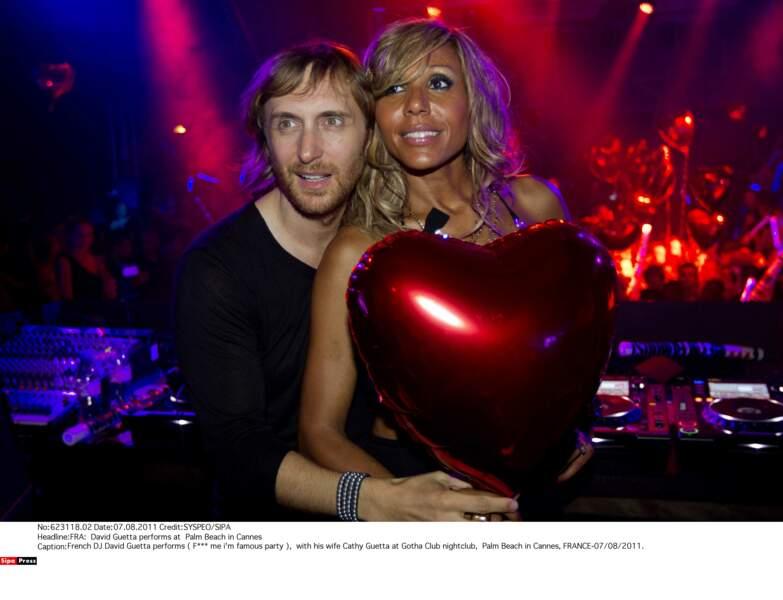 David et Cathy Guetta en 2011