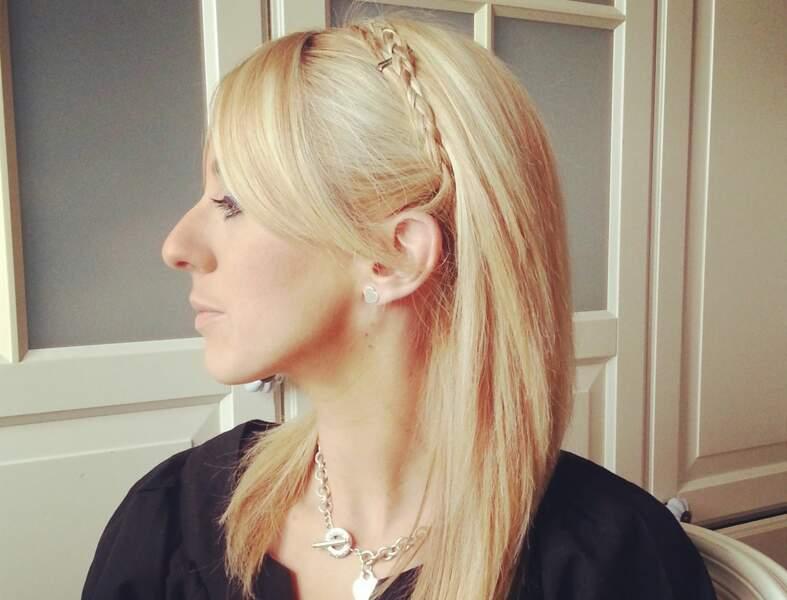 Une coiffure simple pour un effet romantique