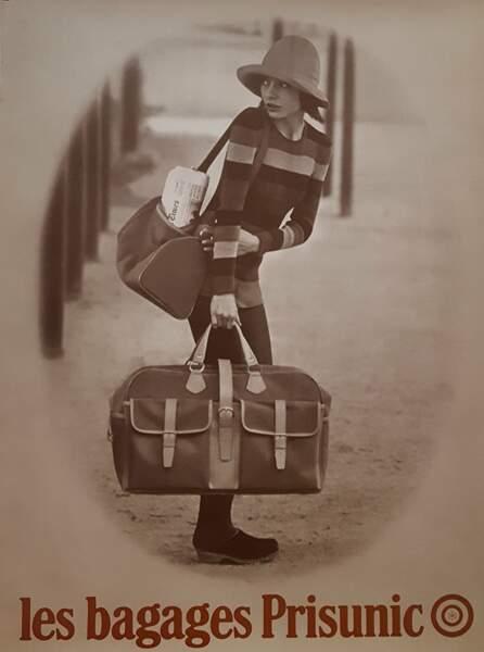 La bagagerie Prisunic, so chic