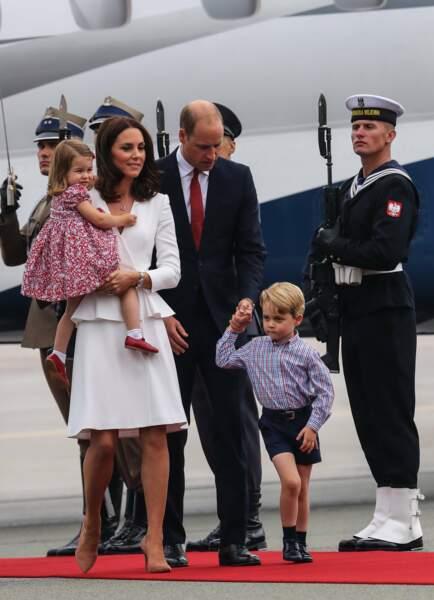 Charlotte, Kate, William et George