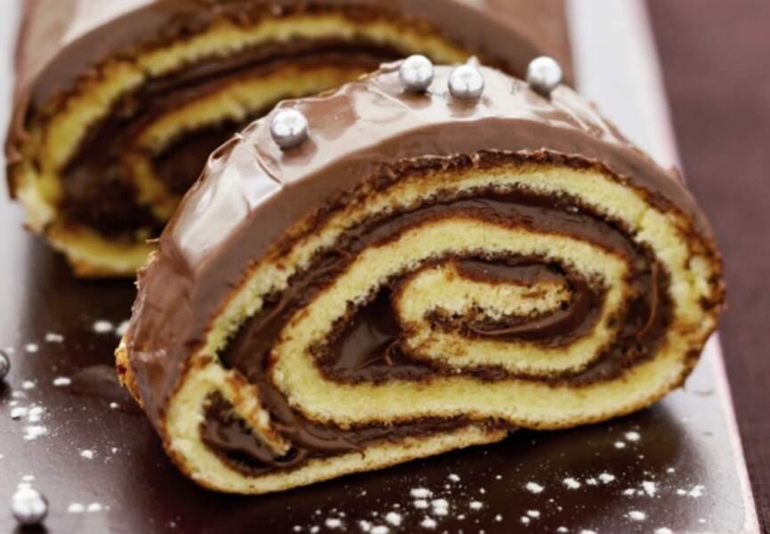 La bûche au Nutella