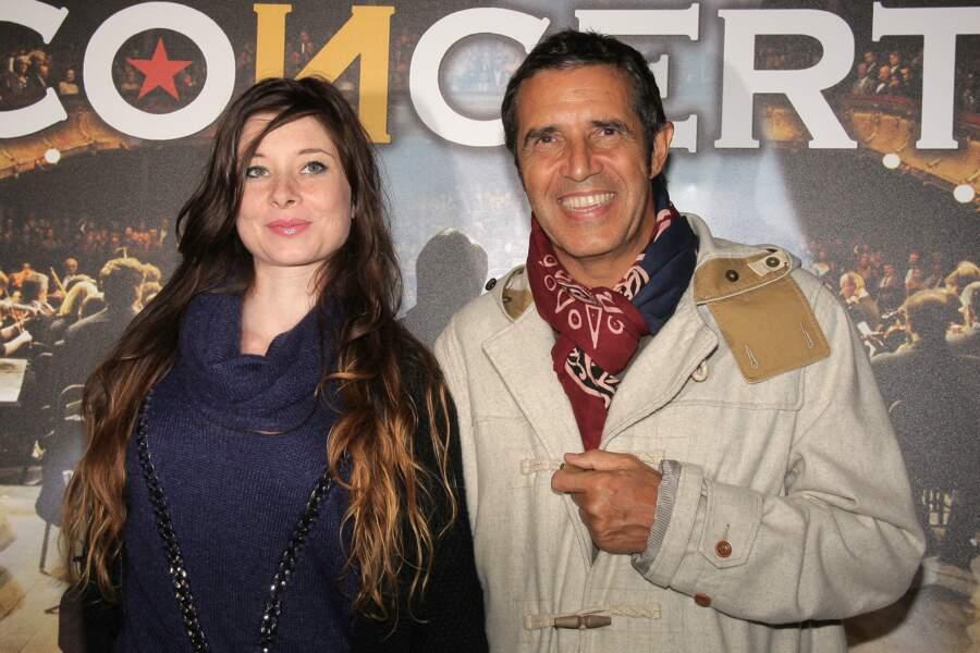 Julien Clerc et Hélène Grémillon se  rencontrent en 2003...