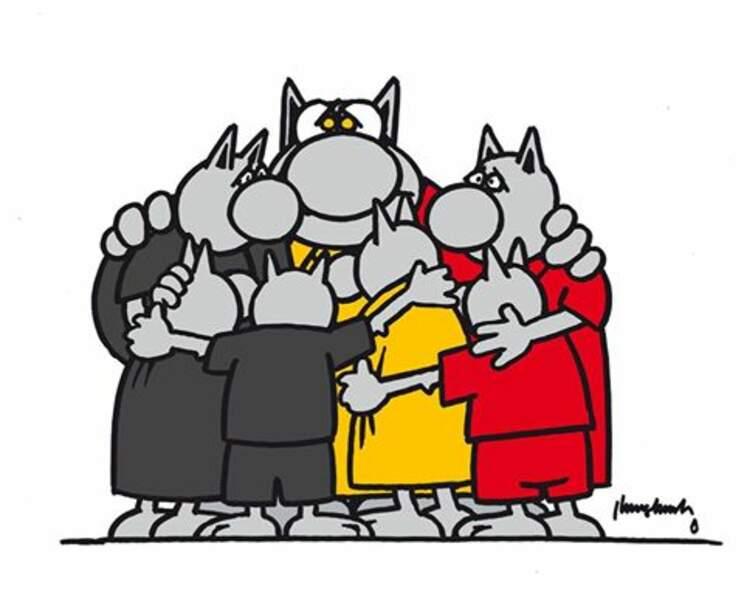 Le Chat de Philippe Geluck est aussi en deuil