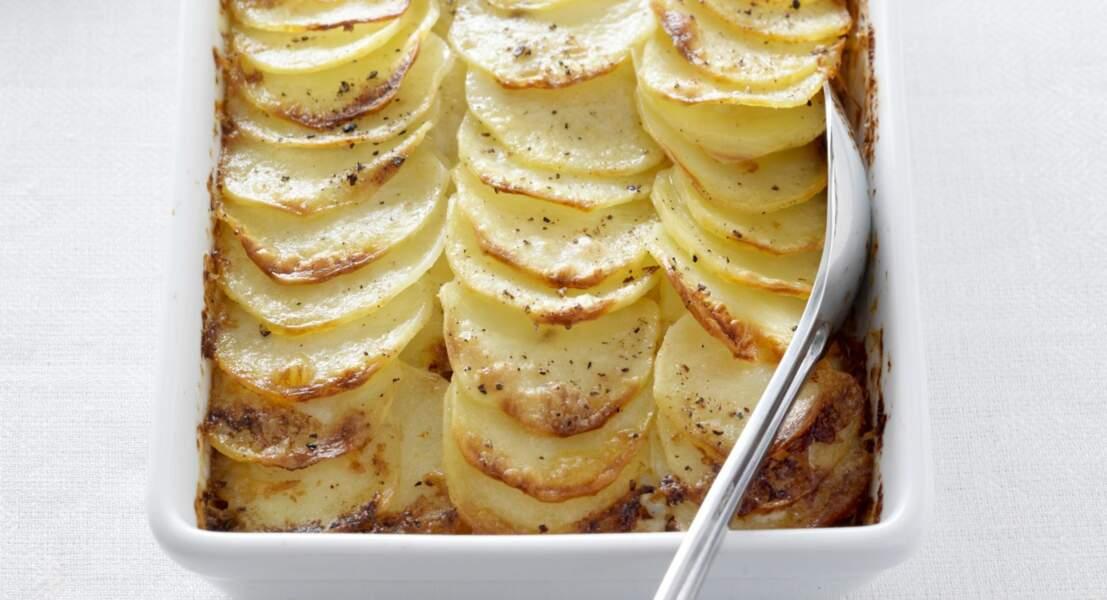 Gratin pomme de terre viande hachée