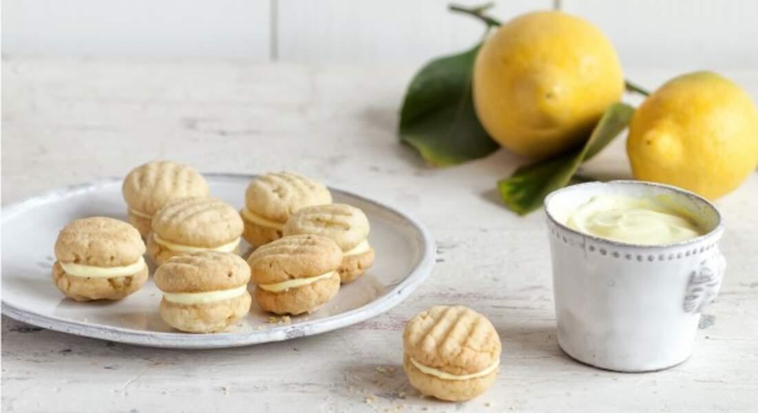 Sablés au citron façon macarons