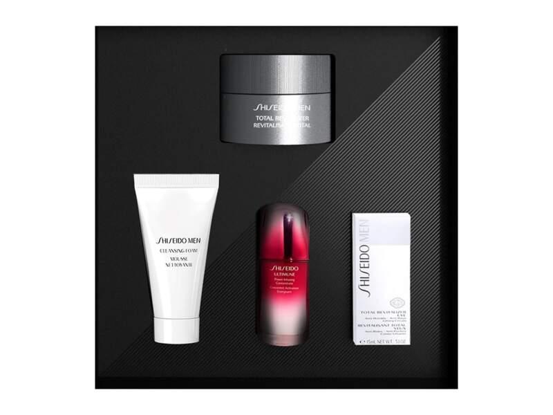 Holiday Kit Revitalisant Total, Shiseido, prix indicatif : 82,90 €