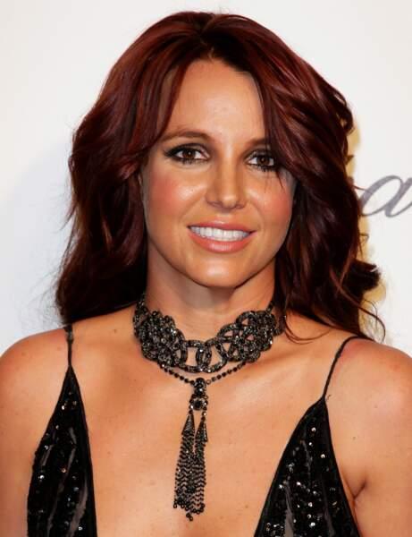 Le brun auburn de Britney Spears