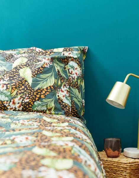 Parure de lit avec à motifs