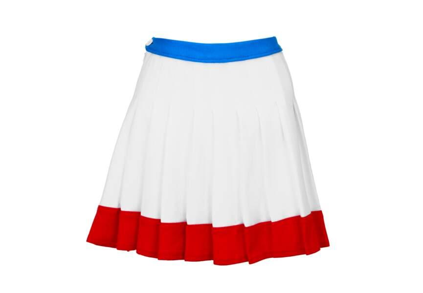 Bleu blanc rouge: la jupe plissée