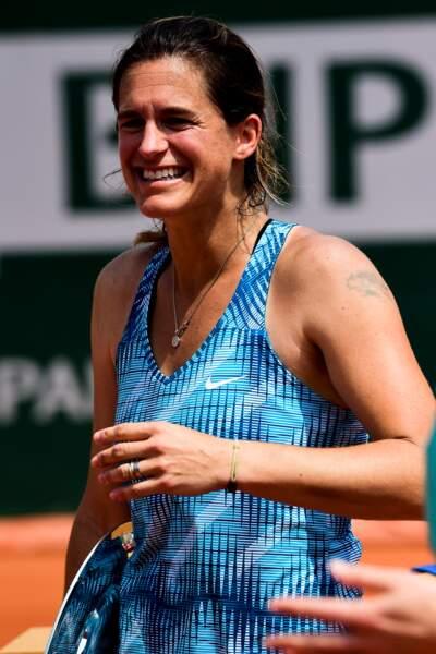 Amélie Mauresmo, 38 ans