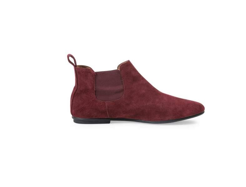 Boots rouges André