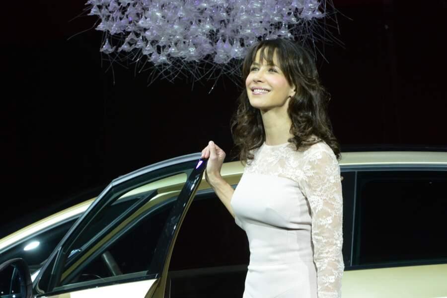Sophie Marceau à l'exposition internationale automobile en Chine en 2013.