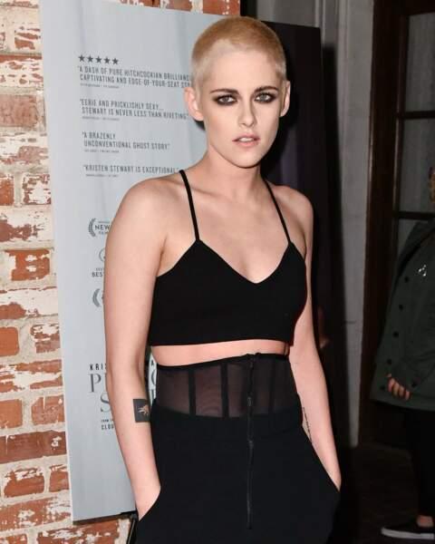 Tendance lingerie soutien-gorge : Kristen Stewart