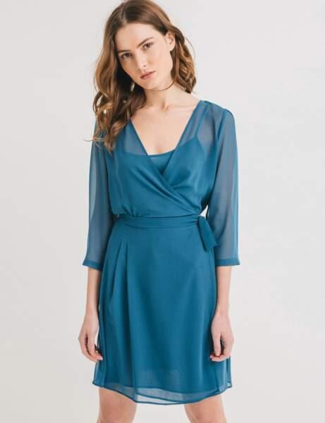 Robes petit prix : turquoise