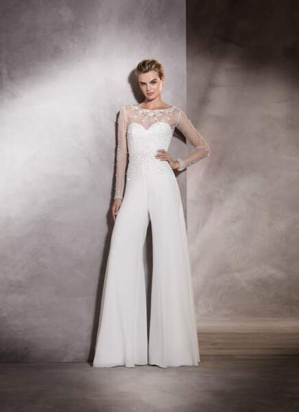Robe de mariée Pronovias : Alma