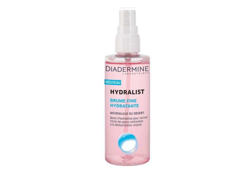 Brume Fine Hydratante Hydralist Diadermine