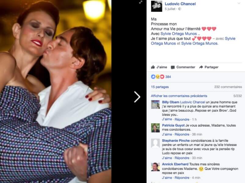 Sur Facebook, Ludovic aimait partager son amour