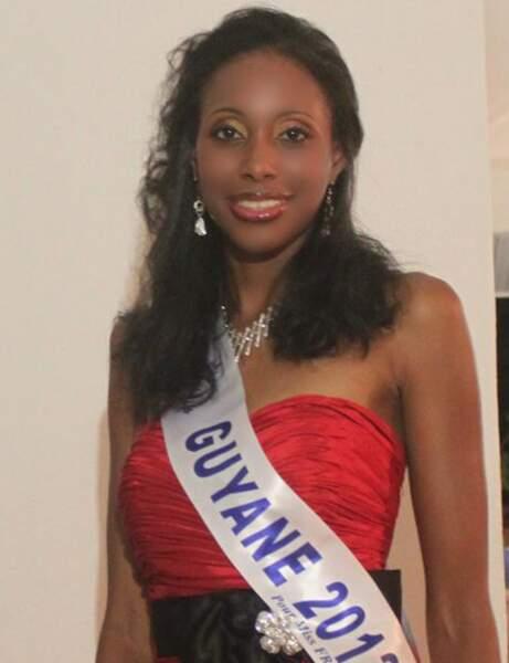 Corinne Buzaré : MIss Guyane