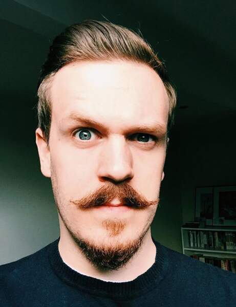 Movember : moustache idée 7