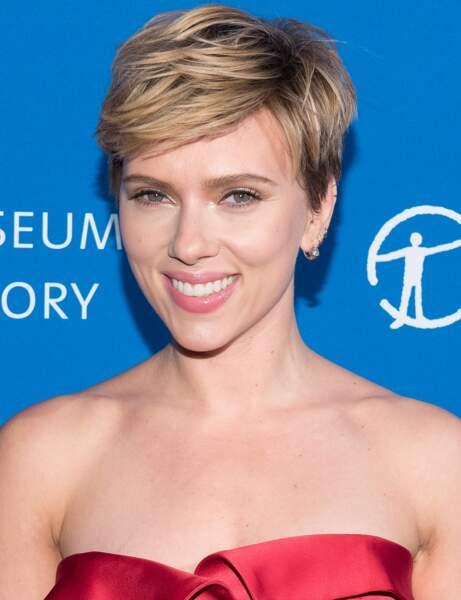 Scarlett Johansson après sa rupture