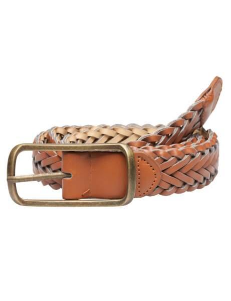 La ceinture tressée