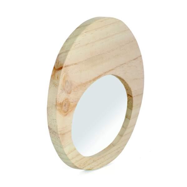 Miroir bois brut Alinéa