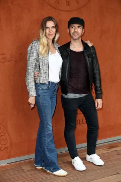 Calogero et sa compagne Marie Bastide le 9 juin 2019