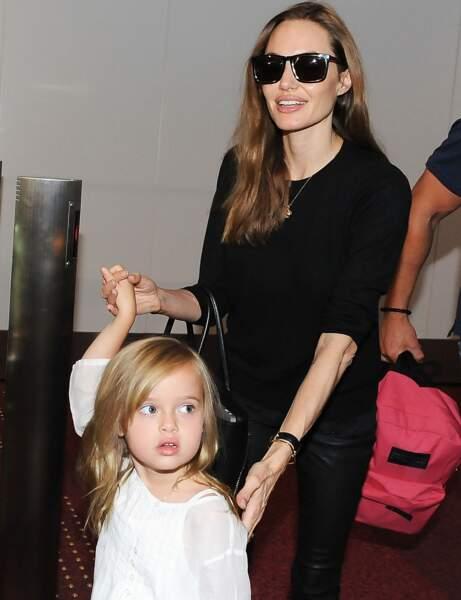 Shiloh, la fille d'Angelina Jolie et Brad Pitt