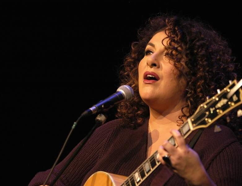 Marianne James en concert en Suisse, en novembre 2004