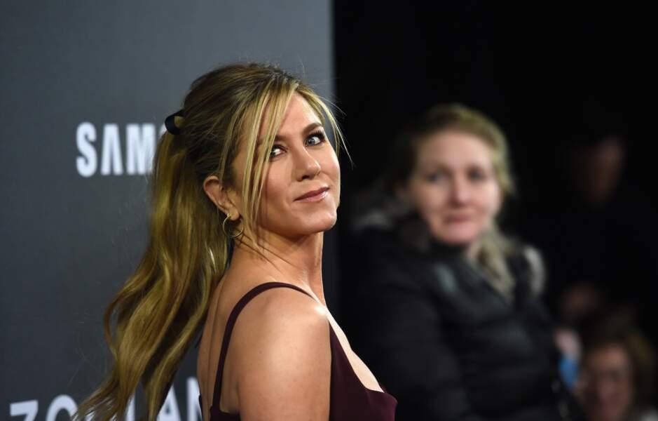 Jennifer Aniston et sa coiffure sobre