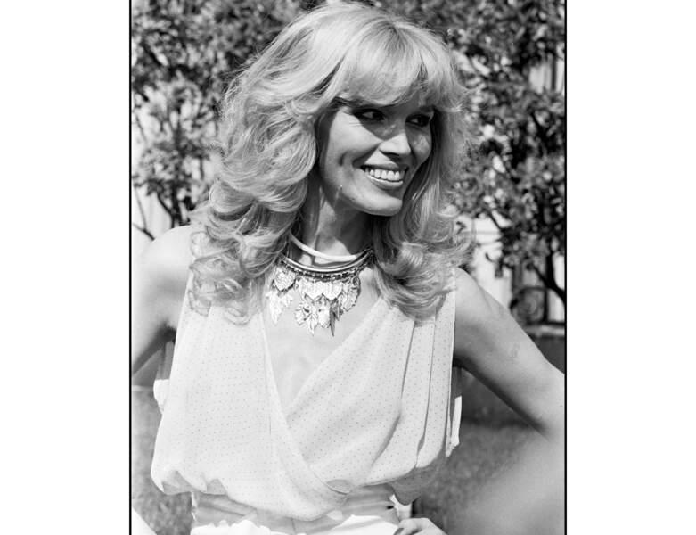 En 1979, un brushing volumineux, typique des années 70