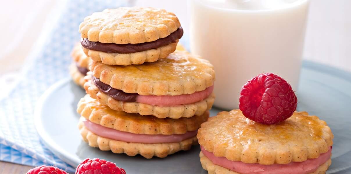 Biscuits sandwichs