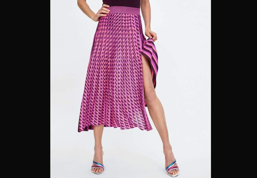 Nouveautés Zara: la jupe rayée