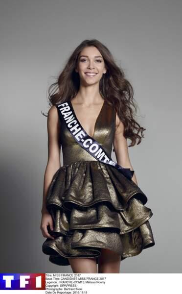 Miss Franche-Comte - Mélissa Nourry