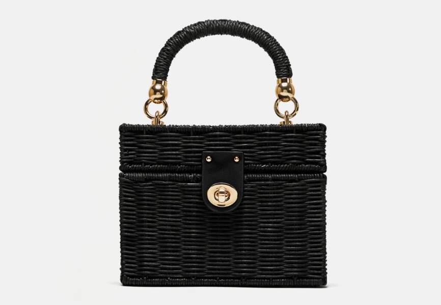 Nouveautés Zara: le sac tressé