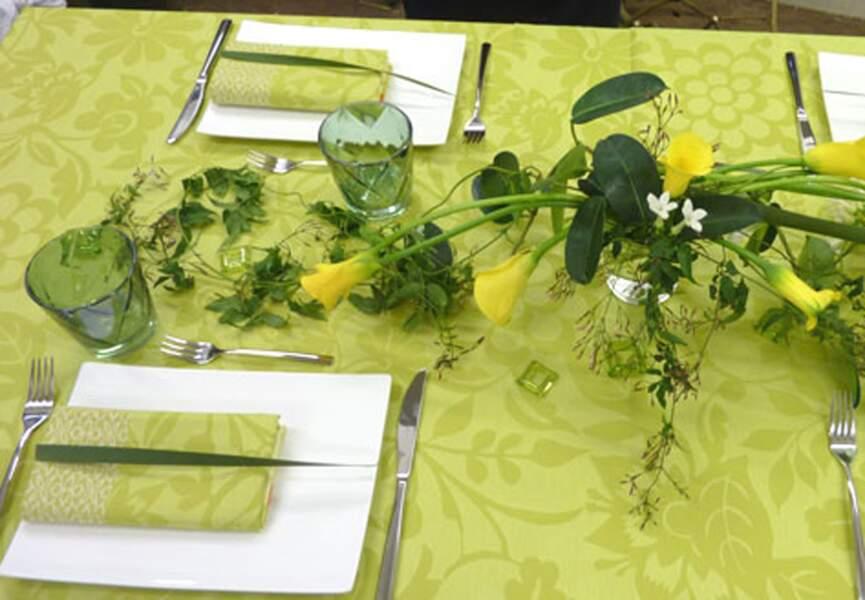 Une table de printemps pour la déco de Pâques