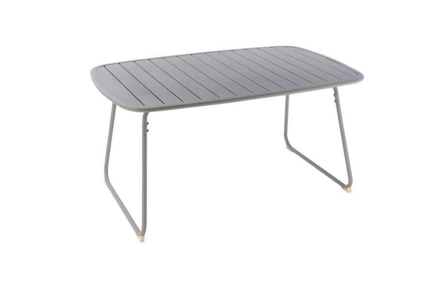 Table de jardin en alu ou en acier - Femme Actuelle