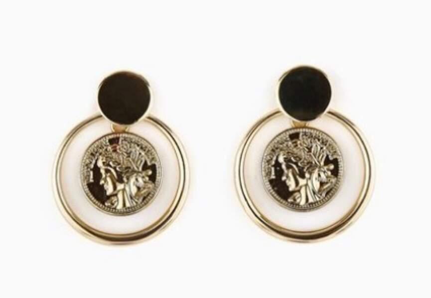 Boucles d'oreilles : antique