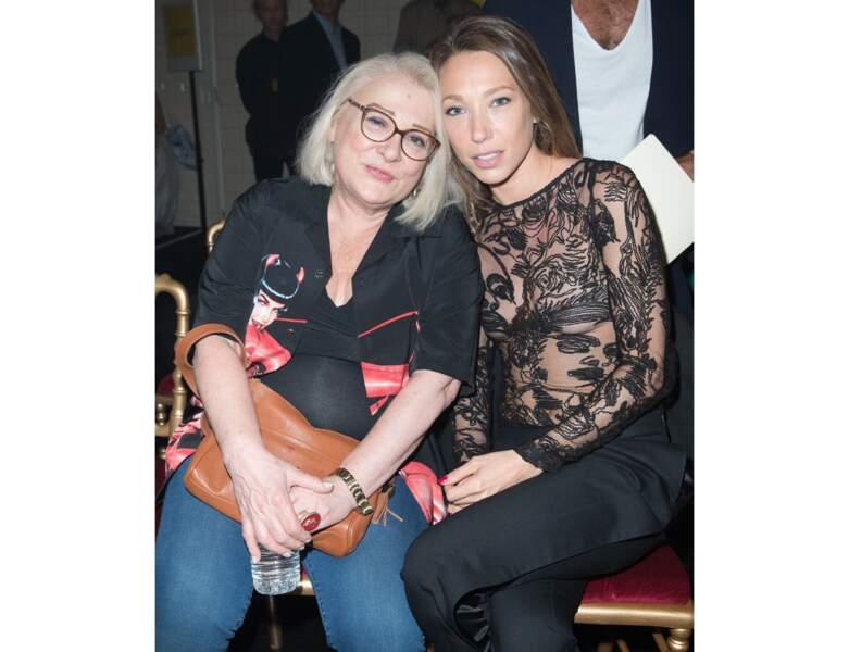 Josiane Balasko et Laura Smet en 2015, l'actrice à 65 ans
