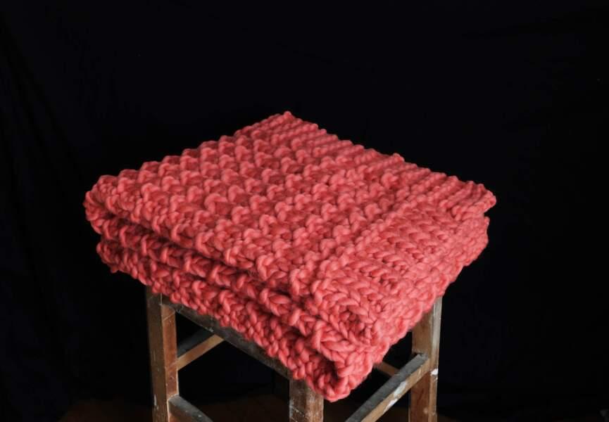 Bouillotte Classique 1,8/L Housse en tricot Aubergine