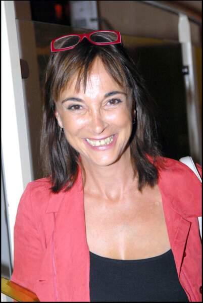 "Ariane Carletti à la première du film ""Mourir d'aimer"" en 2009"