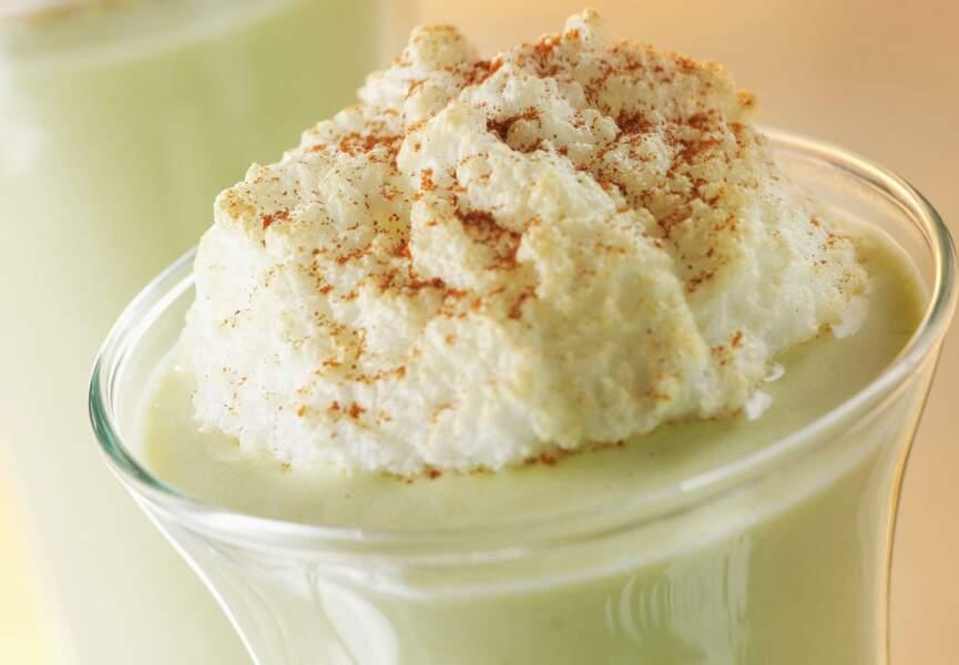 Crème d'asperges en verrine