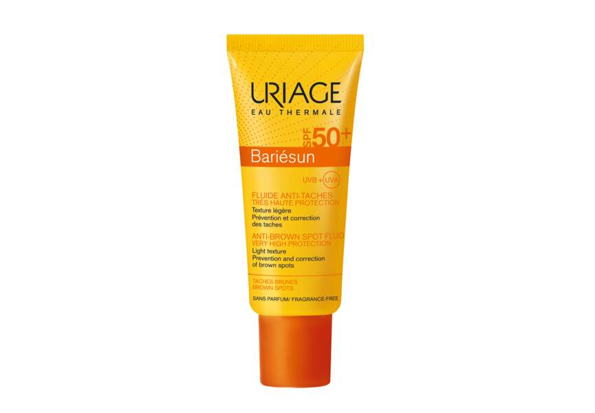 Le fluide anti-taches SPF 50 + Uriage
