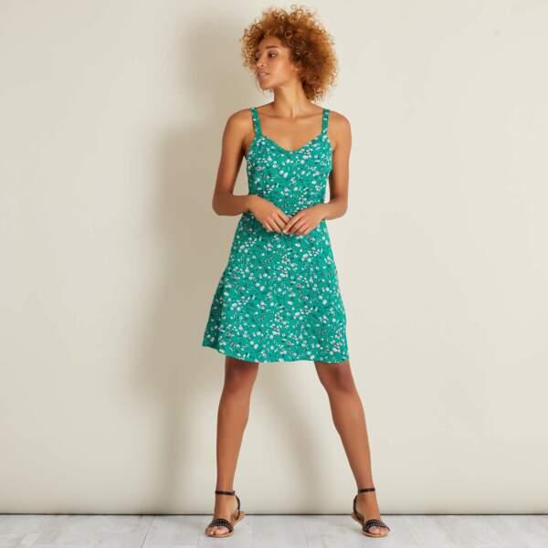 Robe de saison : vert émeraude