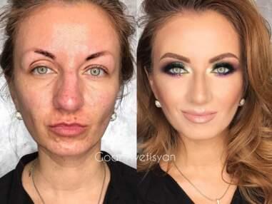 Make-up : des avant/après qui vont vous laisser sans voix