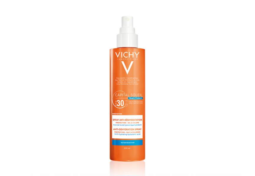 Le spray anti-deshydratation SPF 30 Vichy