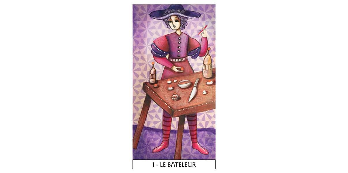 Lame 1 du Tarot des Mages : Le Bateleur